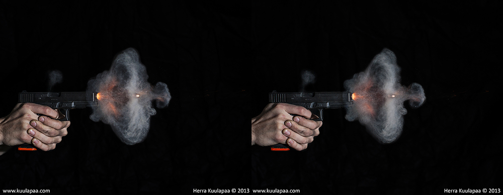 High speed pictures of bullets - General Handgun Discussion