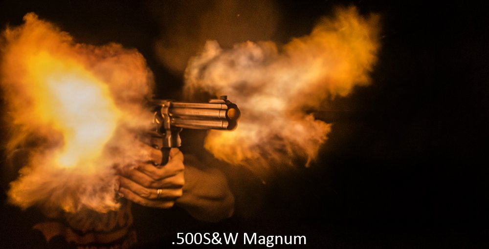 .500S&W Magnum flames